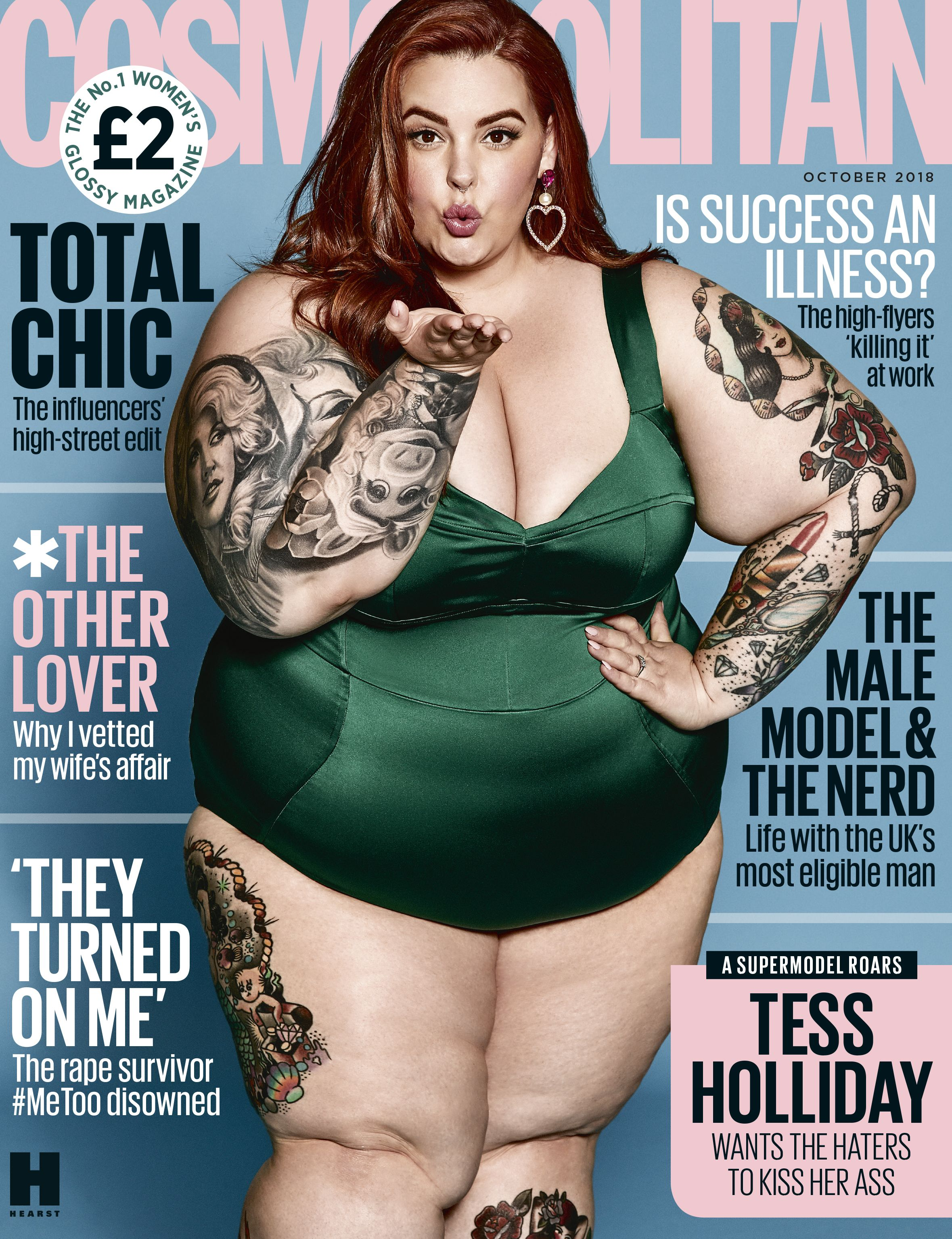 9c3c33104a This blogger pointed out the double standard of criticising Tess Holliday s  Cosmopolitan cover