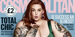 This blogger pointed out the double standard of criticising Tess Holliday's Cosmopolitan cover