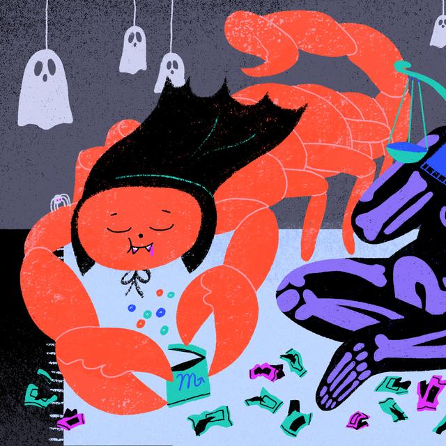 scorpion purple libra