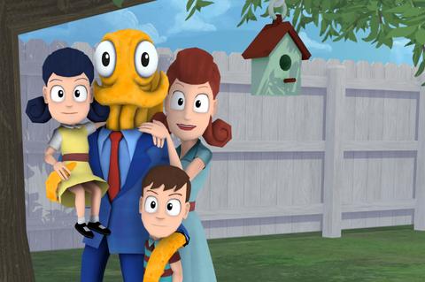 Cartoon, Animated cartoon, People, Illustration, Art, Animation, Friendship, Fiction, Fun, Fictional character,