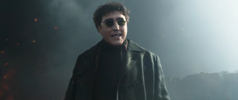 Alfred Molina is Doctor Octopus in a scene from the Spiderman No Way Home trailer