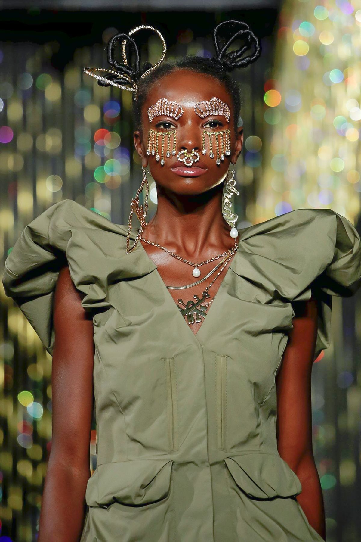 The Biggest Accessory Trend From Fashion Month is For Your Face