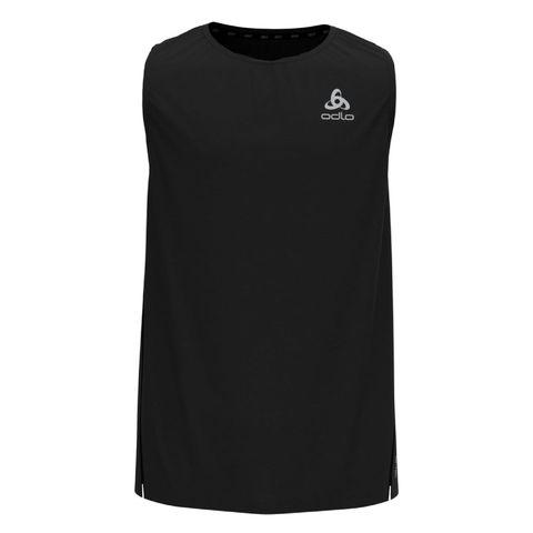 odlo zeroweight chilltec singlet heren shirt top sportkleding sportshirt zwart