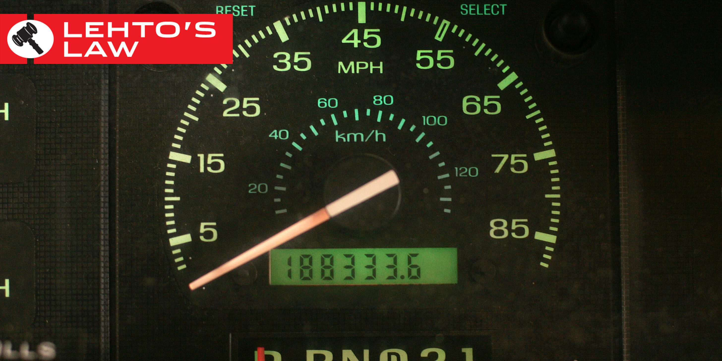 The legality of odometer tampering comes down to a sticker