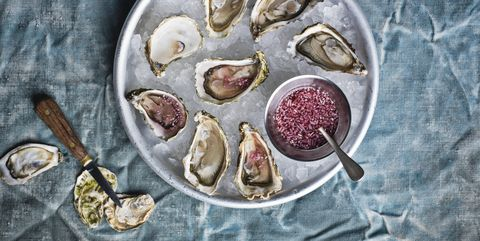 Oesters openen