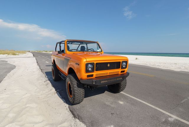 1979 harvester scout given new high tech life