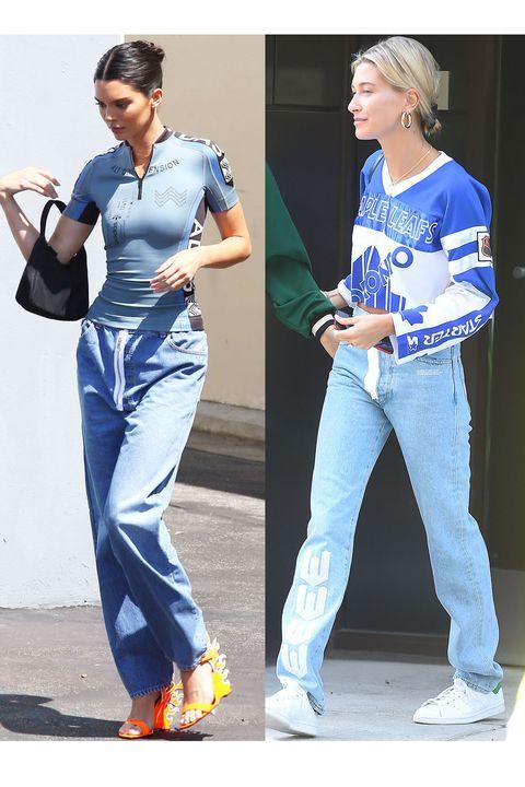 Kendall Jenner Rocks Skin-Tight Biker Shirt And $1,100 Prada Heels AT The Studio