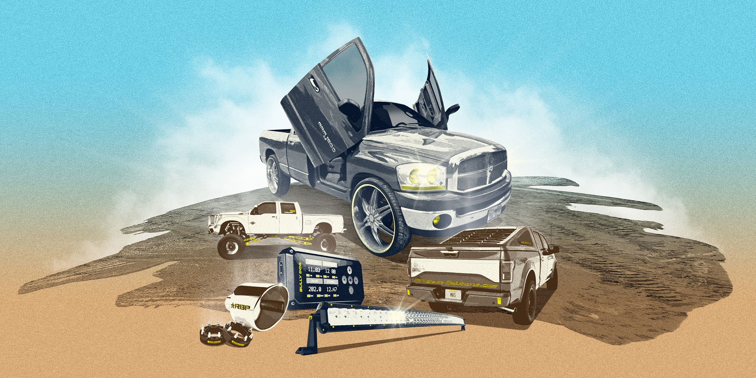 These Crazy Truck Accessories Drive Us Nuts