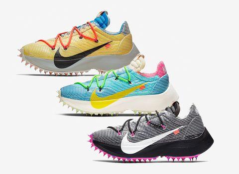 Off-White、Nike聯名推出Vapor Street慢跑鞋