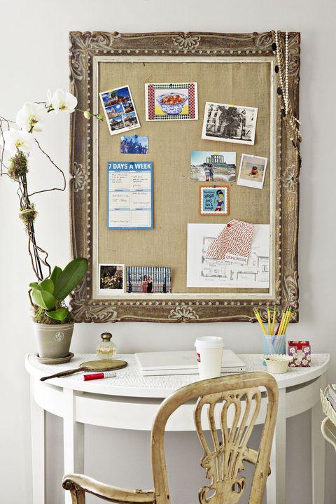 office organization ideas - pinboard