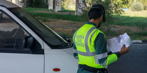 national department of traffic campaign for supervision and control of vans in madrid