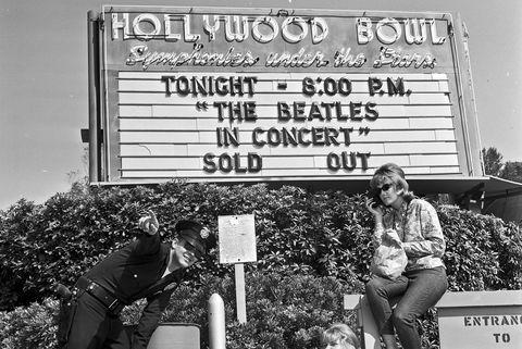 The Beatles in California