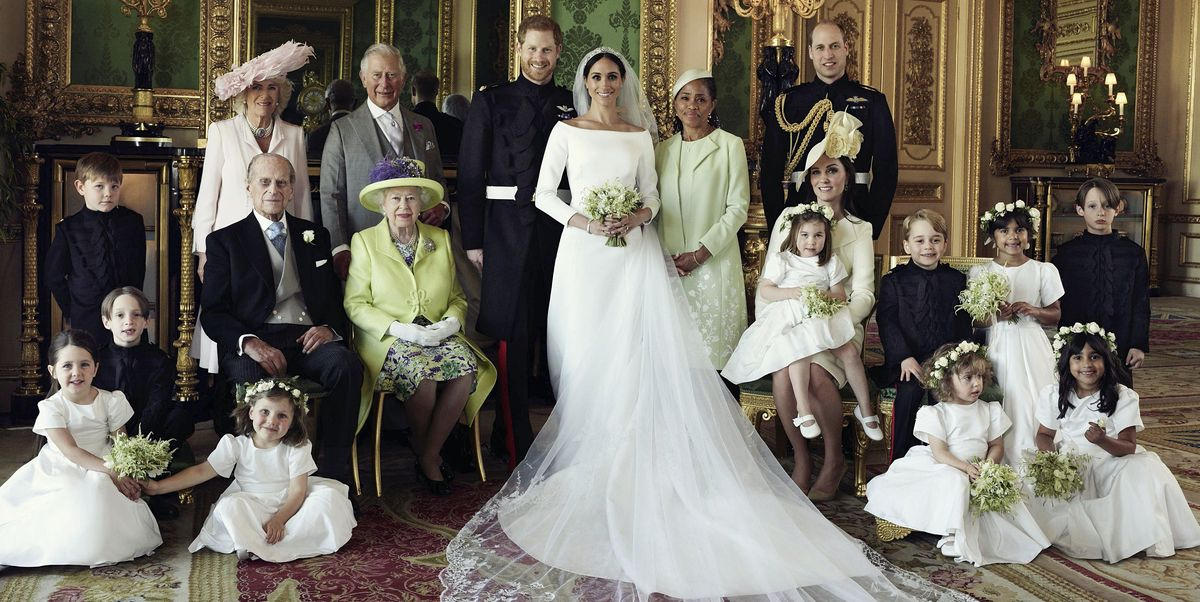 Yes, It's Significant Where Everyone Is Standing in the Official Royal Wedding Family Portrait
