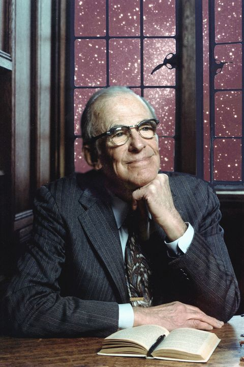 portrait of astrophysicist lyman spitzer