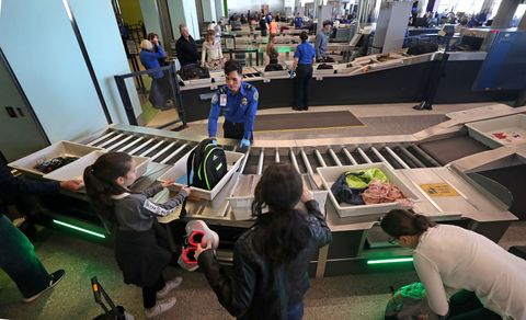 New Security Checkpoint Lanes At Logan Airport