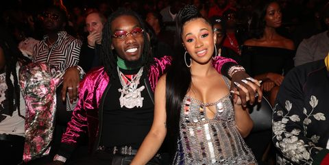 Cardi B Shares The First Picture Of Baby Kulture After Announcing