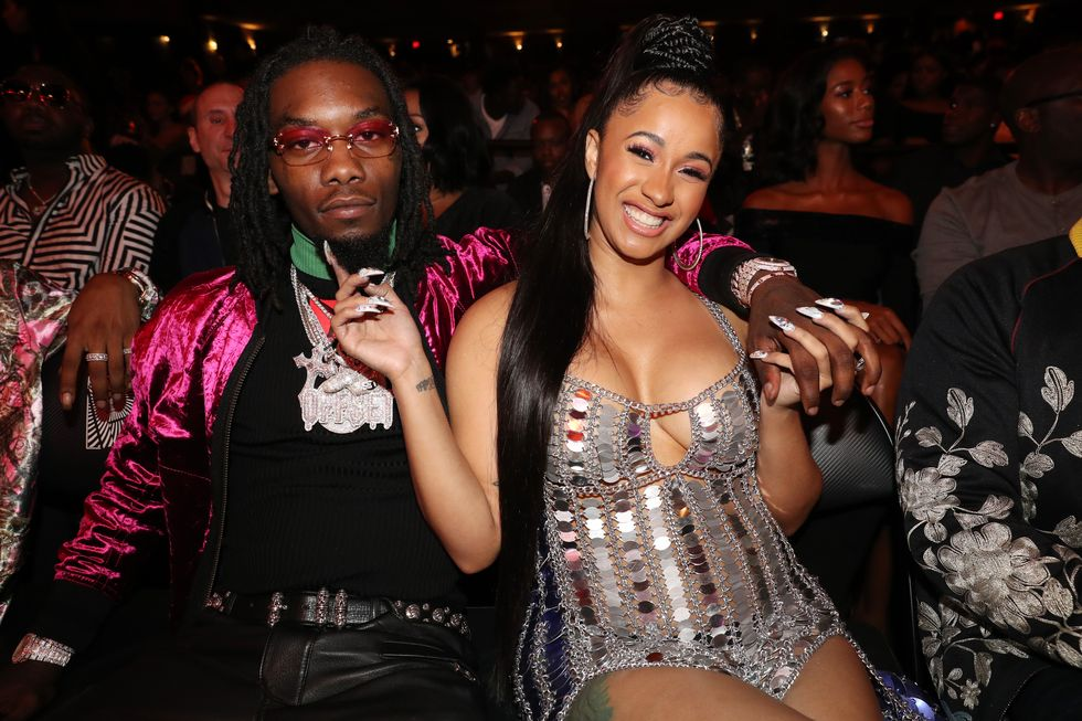 Cardi B Hits Back at Claims Her and Offset