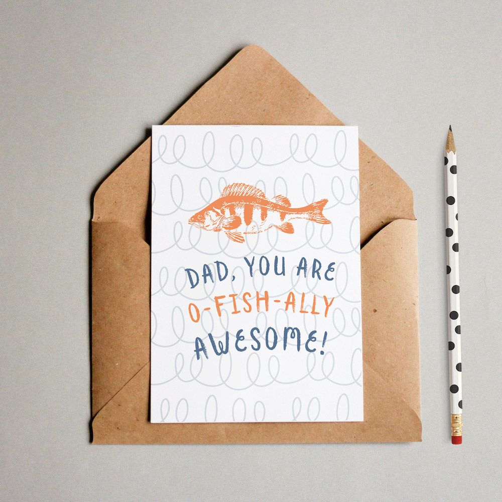 ofishally awesome printable fathers day card