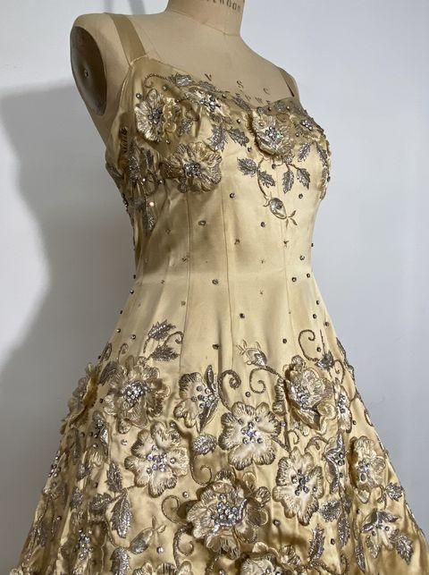 balmain ballgown