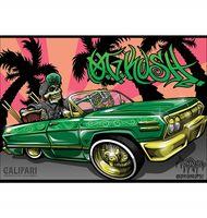Marijuana strain poster OG Kush from Califari