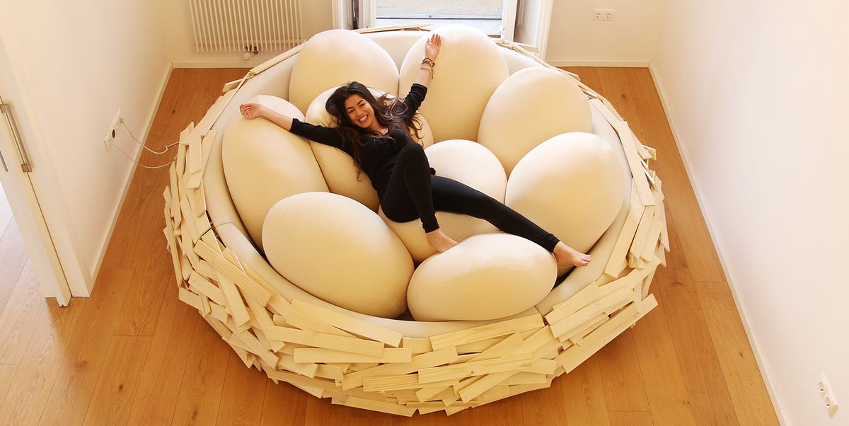 This Giant Bird S Nest Bed Is Everything You Never Knew You Needed