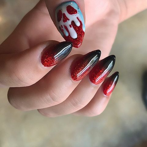 10 Best Halloween Nail Ideas for 2018 - Halloween Nail Art ...