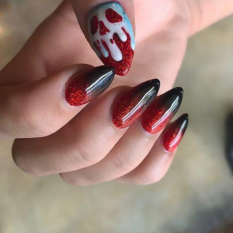 10 Best Halloween Nail Ideas For 2018 Halloween Nail Art Designs