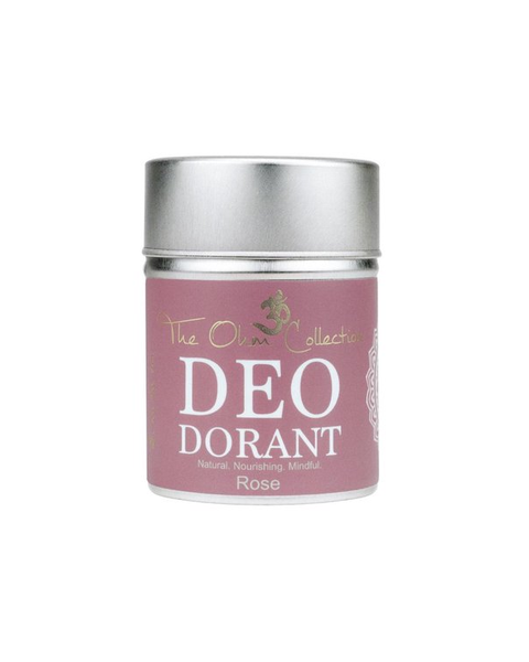the ohm collection deo dorant poeder rose