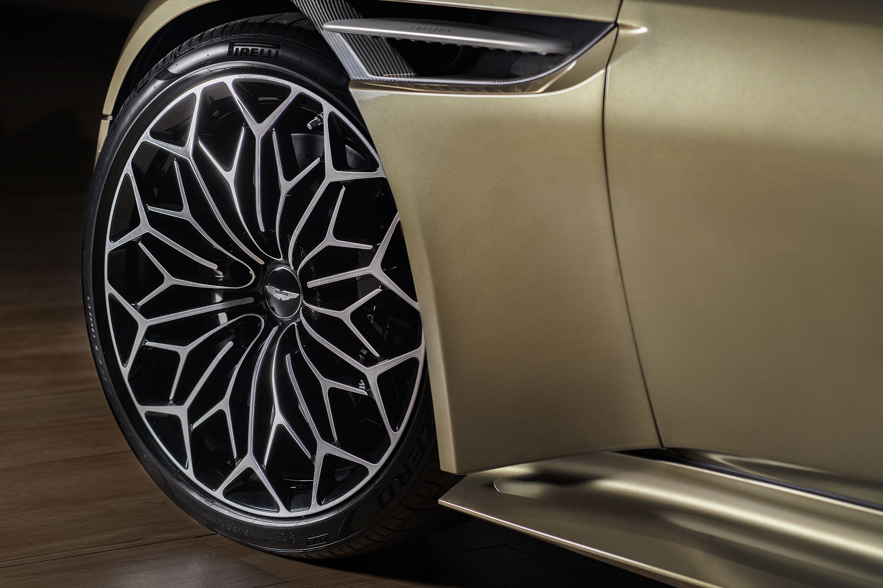 The Wheels Are the Best Part of This James Bond Special-Edition Aston Martin