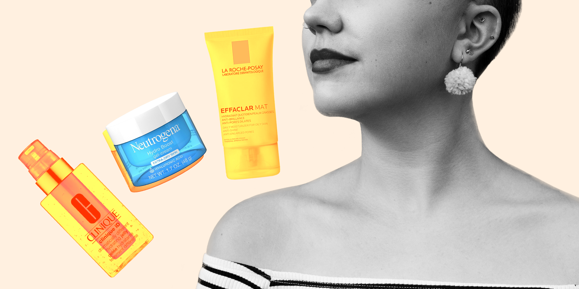The 6 Best Oil-Free Moisturizers That Won't Make Your Face a Shiny, Greasy Mess