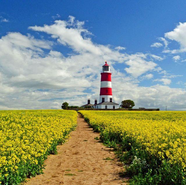 Norfolk holidays: Happisburgh Lighthouse