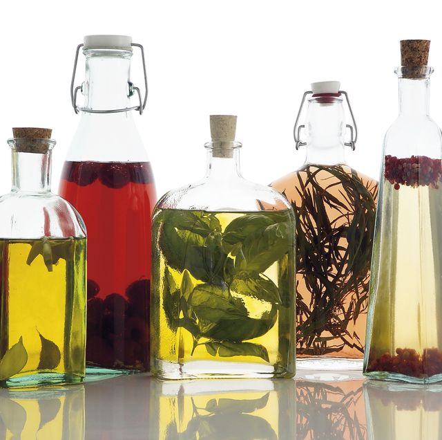Oils and aromatic vinegars...