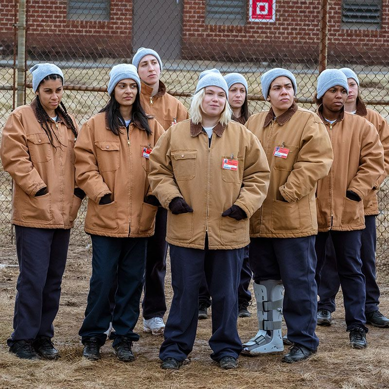 Louisiana The prisoners of Litchfield, chronicled on Orange Is The New Black, are a big favorite in the bayou.