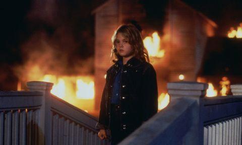 Drew Barrymore en Ojos de fuego