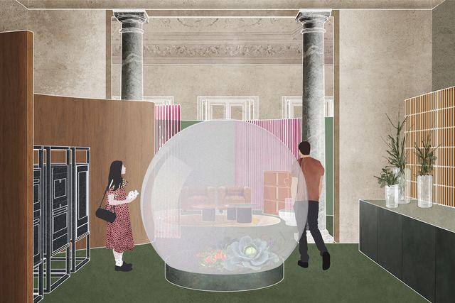fuorisalone 2021 la mostra la casa fluida di elle decor italia