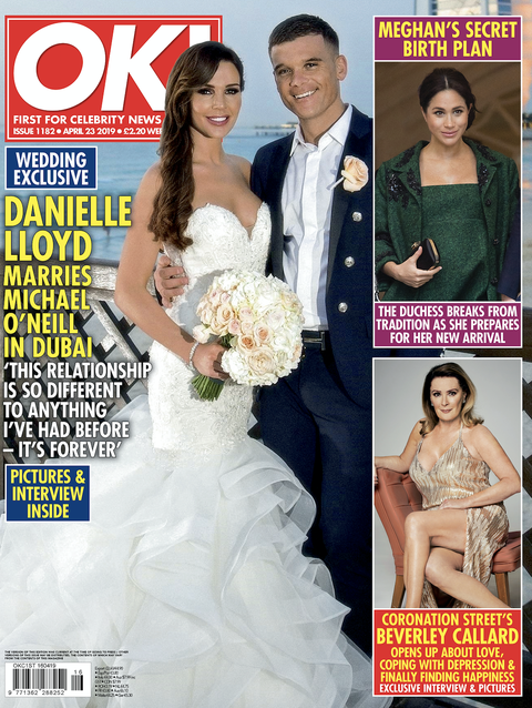 Danielle Lloyd opens up about wanting more children as she marries partner Michael O'Neill