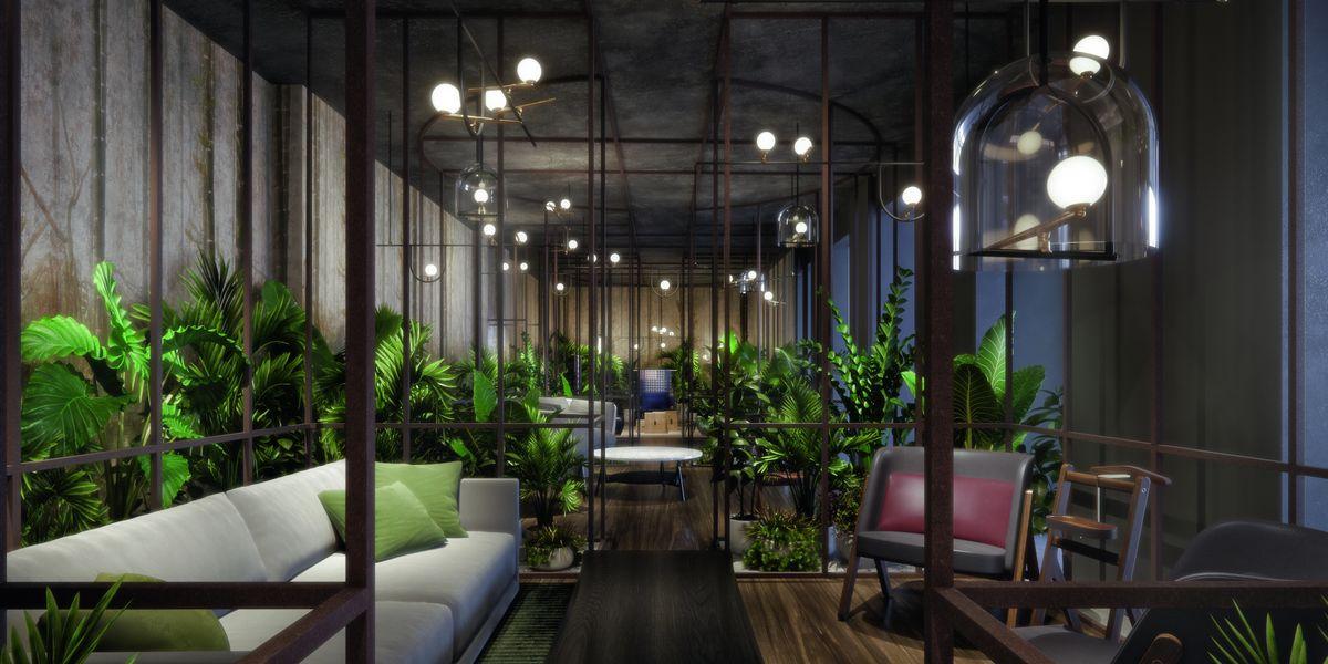 Elle decor grand hotel 2018 il temporary hotel firmato da for Elle decor hotel palazzo morando