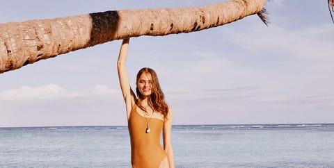People on beach, Beauty, Leg, Vacation, Long hair, Summer, Fun, Bikini, Shoulder, Swimwear,