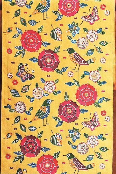 岡本隆志さん「花と鳥と蝶」