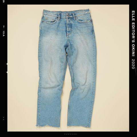 Denim, Jeans, Clothing, Pocket, Blue, Textile, Line, Text, Trousers, Leg,