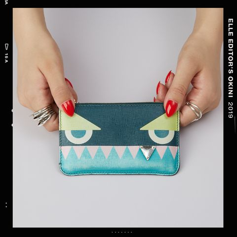 Handbag, Bag, Wallet, Coin purse, Fashion accessory, Turquoise, Leather, Design, Nail, Hand,