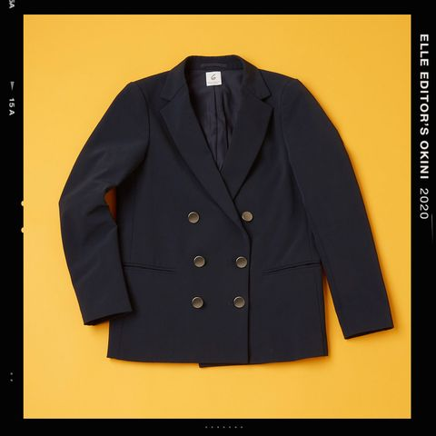Clothing, Outerwear, Sleeve, Jacket, Blazer, Button, Suit, Font, Collar, Top,