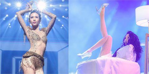 Dancer, Performance, Leg, Performing arts, Event, Thigh, Dance, Performance art, Stage, Fashion model,