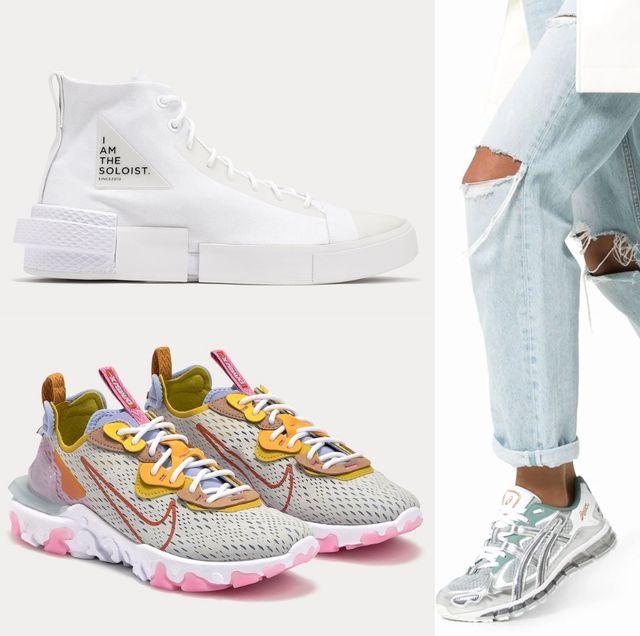 Footwear, Shoe, White, Plimsoll shoe, Sneakers, Font, Athletic shoe,