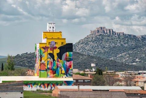 Titanes', el proyecto de arte urbano que pone a Ciudad Real en el punto de mira