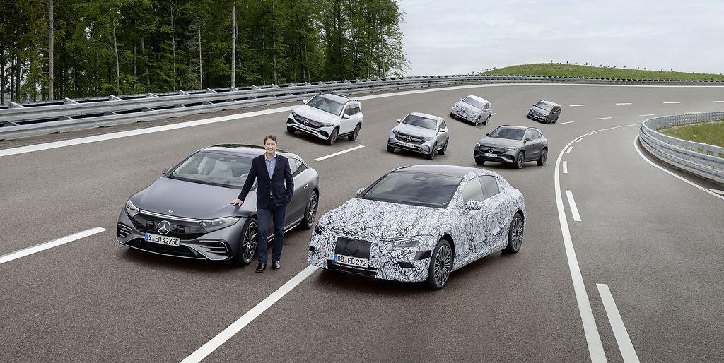 Mercedes muestra su nueva estrategia para ser 100% eléctrica en 2030