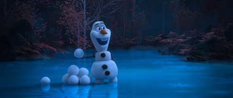 Frozen's Olaf in At Home With Olaf