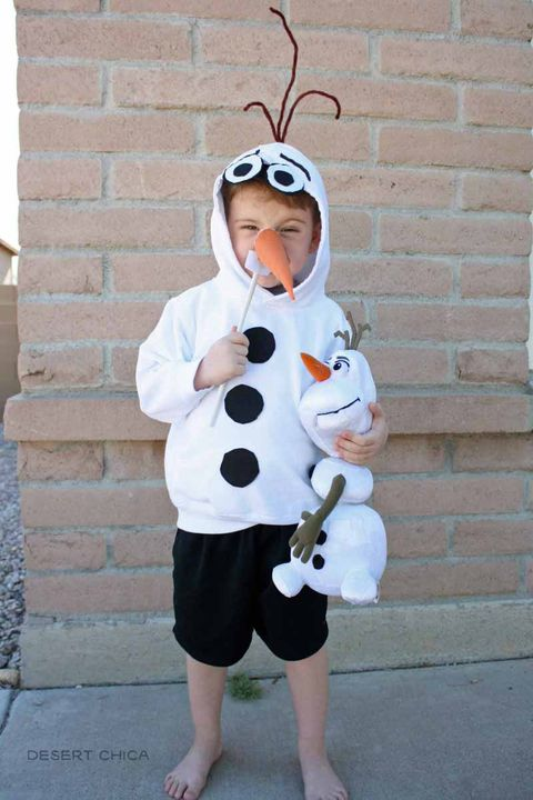 olaf hoodie diy frozen costumes
