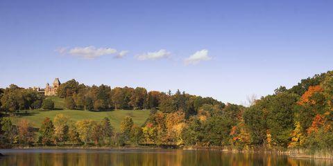 USA - Olana Estate Landscape