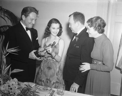 Vivien Leigh with Fellow Actors